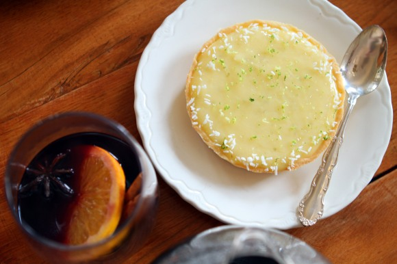 Lemon and Coconut Tartlet