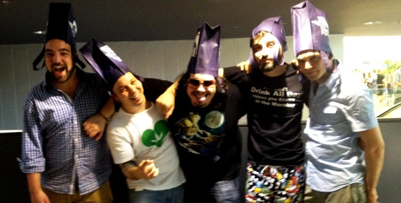 Beerfest bag crew