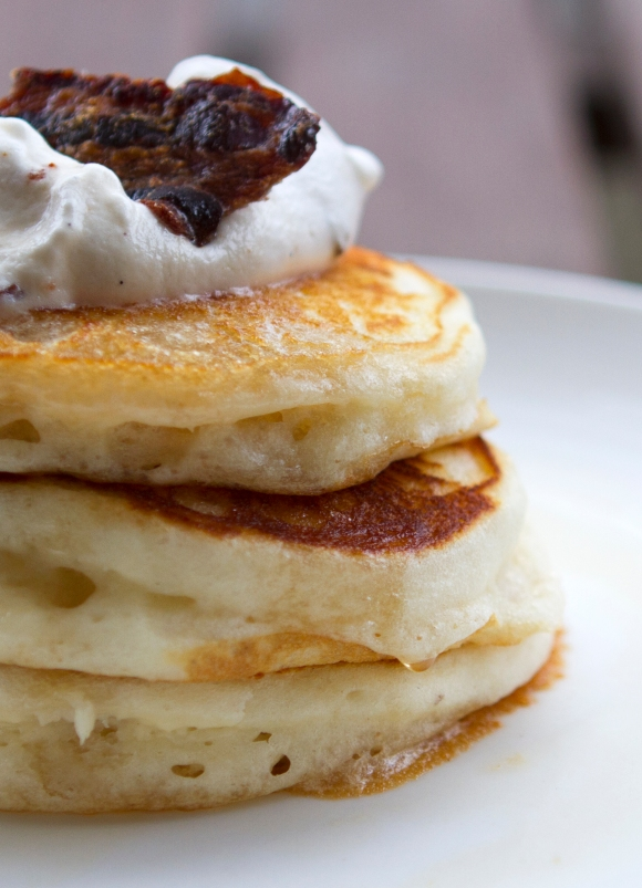 bacon bourbon pancakes